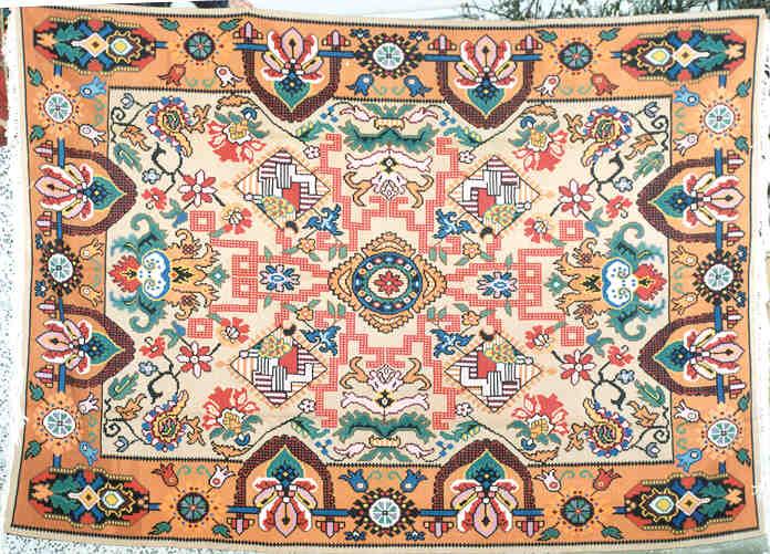 100 Wool Hand Woven 2 20meters X 3 20meters 7 3 X 10 6